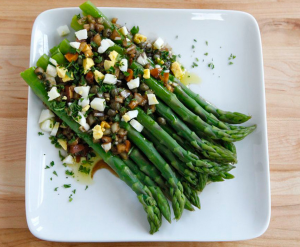 Thomas Jeffeson's Marinated Asparagus